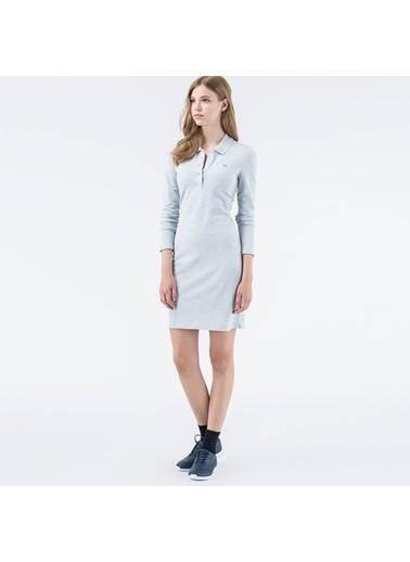 Polo Yaka Mini Elbise-Lacoste